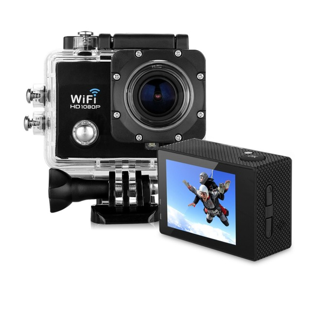 Excelvan Camera Q5 Action Sport 12MP 2.0 Inch HD Lens 30M Waterproof DV Video Night Vision Q5 Sports Action Camera