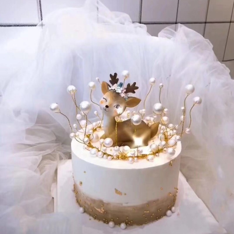 Novelty Cake Topper Stick Baby Shower Kids Birthday Wedding Cake Decoration