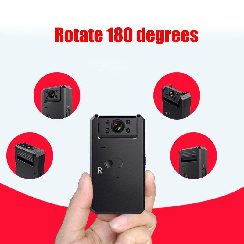 2018 Новый 4 К HD 140 градусов широкий угол веб камера Встроенный WI FI аккумулятор поддерживает 180 градусов вращения инфракрасного ночного видени