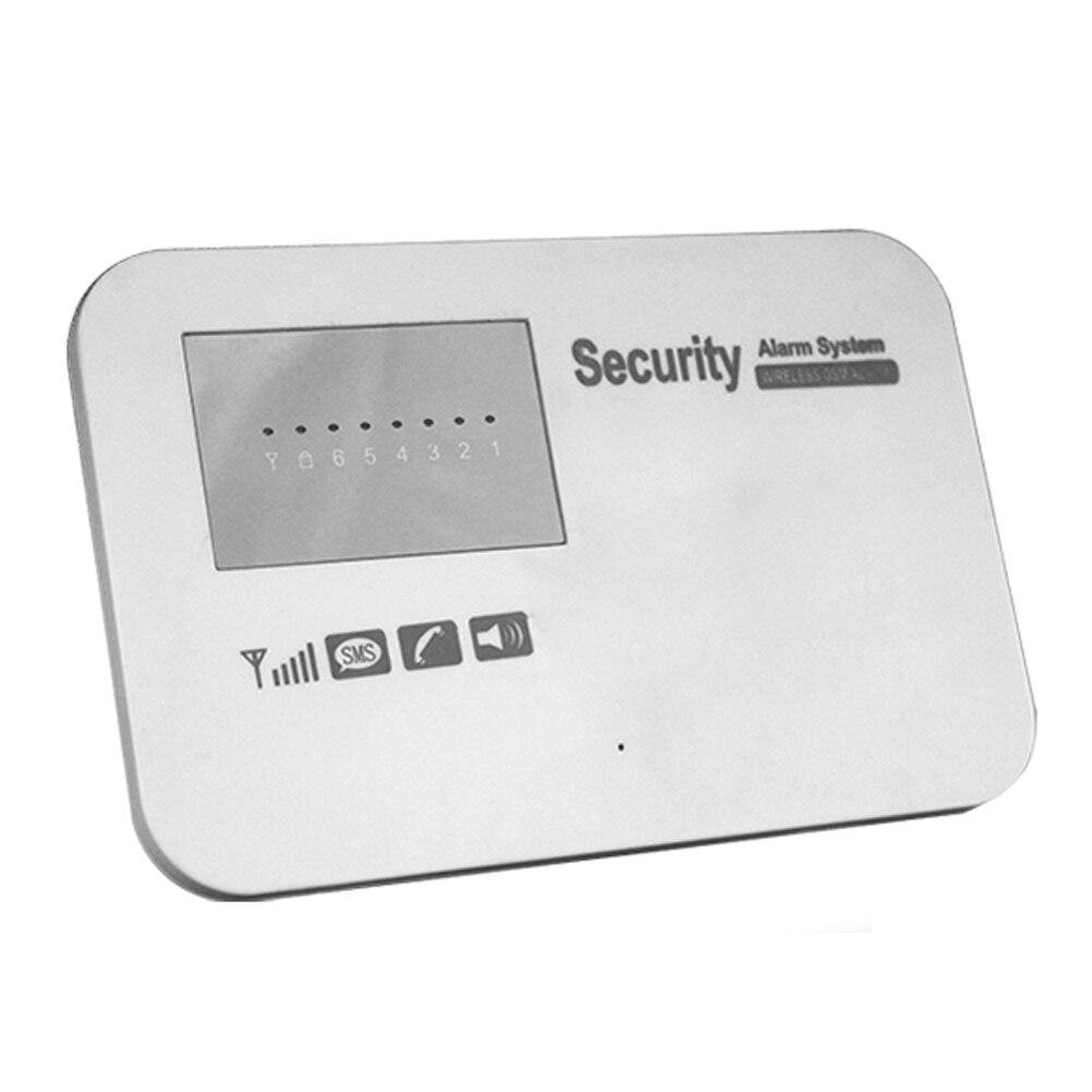 ФОТО Home Security Wireless LCD Dispaly Intelligent Anti-Theft Alarm Remote APP Control DC12V GSM Alarm System Burglar Alarm HostFEN#