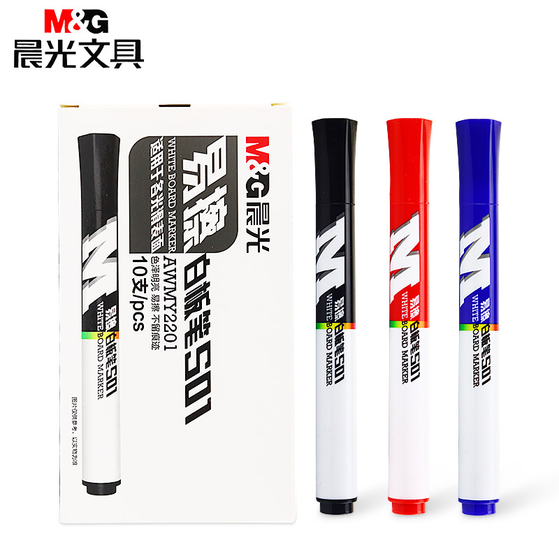 M&G Whiteboard Marker pen for white board marker dry erase markers classroom supplies bord erasable for school office supplies