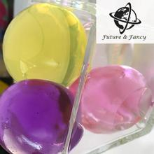 Huge size-13-14mm WATER AQUA CRYSTAL SOIL GEL BALL BEADS WEDDING casamento VASE TABLE DECORATIONS, 10 colors for u pick