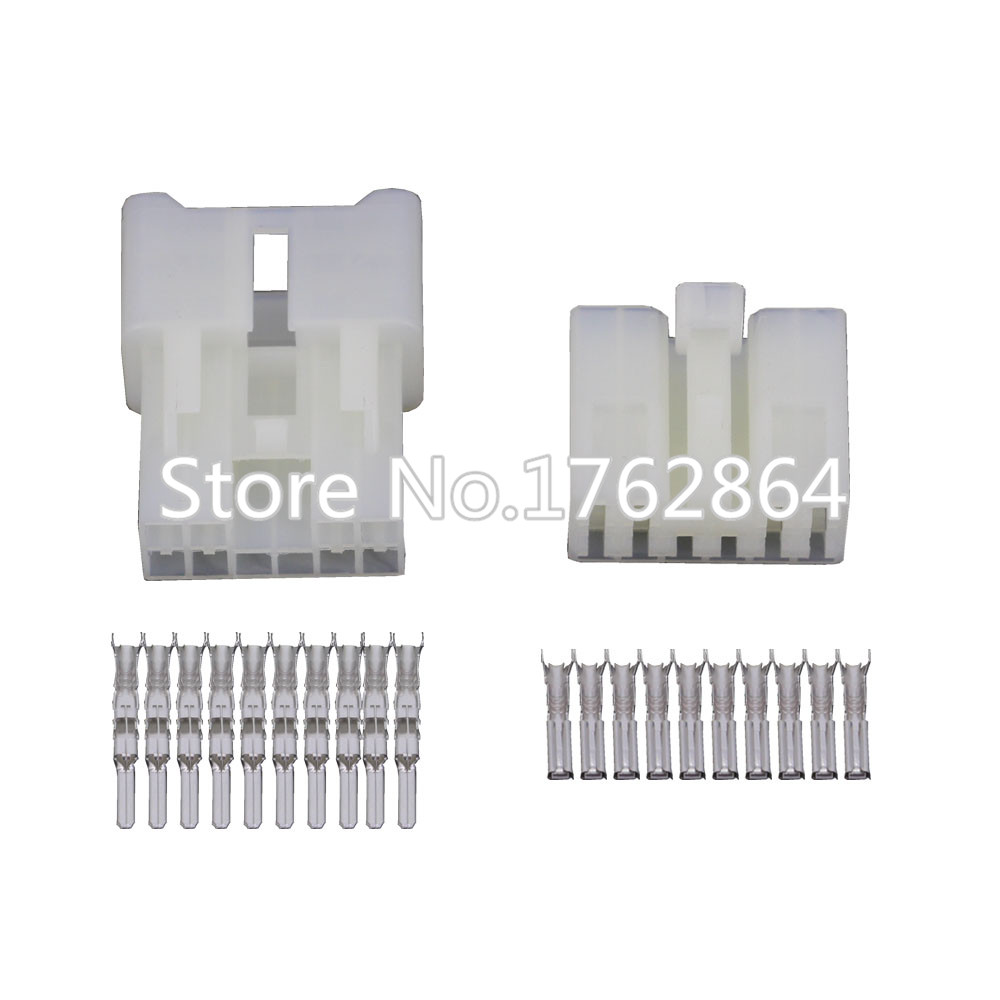 5 Sets10 Pin Vehicle Connector Car Connector Male And
