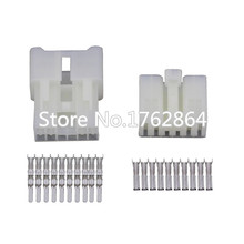 цена на 10 Sets 10 pin vehicle connector Car connector male and female with terminal DJ7101A-2.3-11 / 21 10P