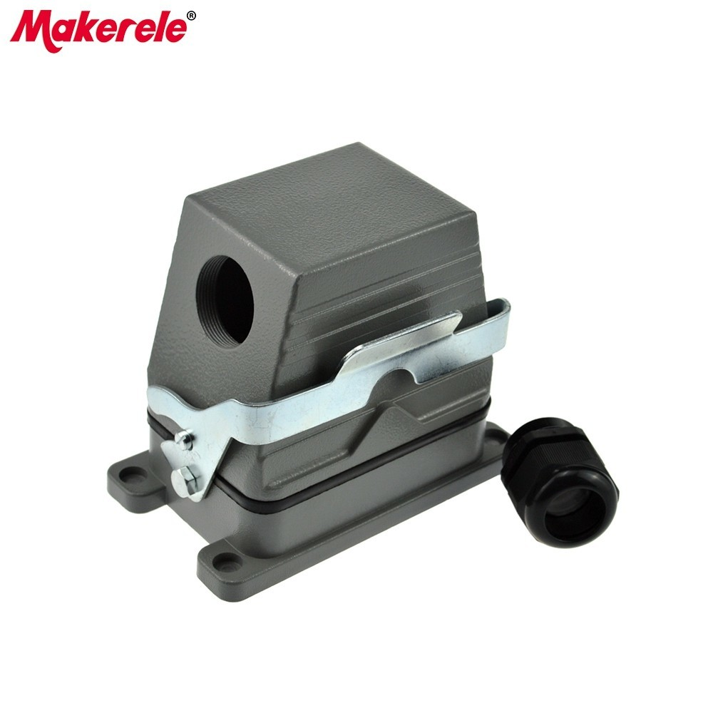 MK-HE-048-1 48 pins Harting connecteur Multiples 1-24PIN et 25-48pin Heavy duty connecteur de maker électrique