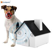 LumiParty Ultra-sônica Dispositivo À Prova de Intempéries Ao Ar Livre Indoor Pet Treinamento Do Cão Parar de Latir Equipment-30