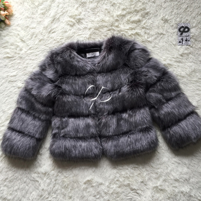 CP Бренд Короткая Шерсть Пальто Зимняя Мода Женщины Искусственного Меха Лисы пальто Пушистый Мило Женщина Искусственного Меха Куртка Плюс Размер Шуба куртка