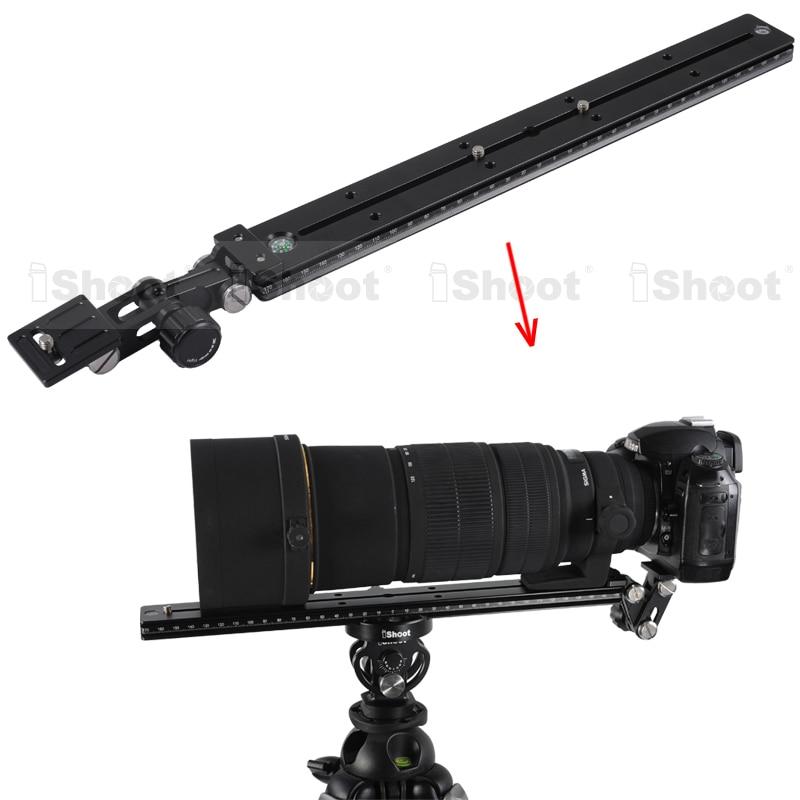 bilder für Telezoom-objektiv Halterung Lang Fokus Objektiv Unterstützung Halter + 35 cm Kamera Schnellwechselplatte für Kugelkopf Stativschelle