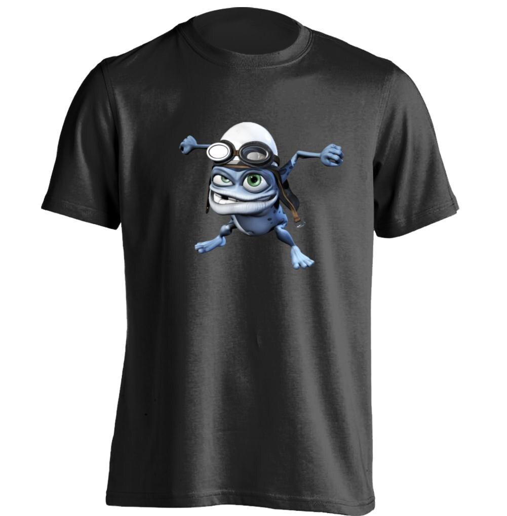crazy frog mens womens printing t shirt rock t shirt custom t shirt in t shirts from men 39 s. Black Bedroom Furniture Sets. Home Design Ideas