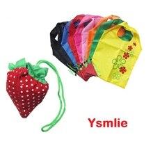 Buy Ysmile Reusable Handbag for Shopping Nylon Foldable Bag Printed Pocket Grocery Storage directly from merchant!