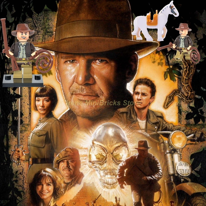 1981 Indiana Jones raiders of the Lost ark movie reproduction metal tin sign