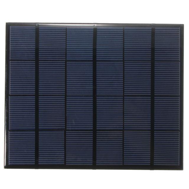 Universal 3.5W 6V 583mA Monocrystalline Silicon Epoxy Mini Solar Panel Solar Module System Solar Cells Battery Phone Charger DIY