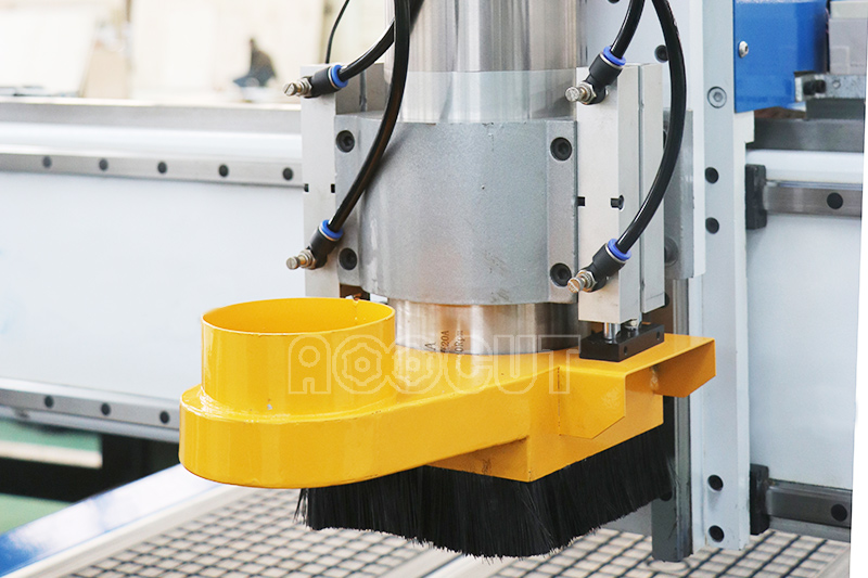 Customized size Aoocut 1325 atc wood cnc router machinery for aluminum cutting 4