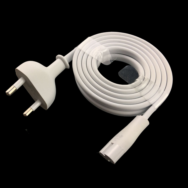 Orijinal AC ab güç kablosu kablosu için apple AirPort zaman kapsülü mac mini Apple TV 6ft 1.8m beyaz renk