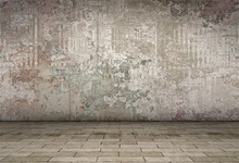 Laeacco Old Fade Wall Brick Floor Portrait Grunge Photography Backgrounds Customized Photographic Backdrops For Photo Studio 12ft vinyl cloth dark old brick wall wood floor photo studio backgrounds for model newborn portrait photography backdrops f 257