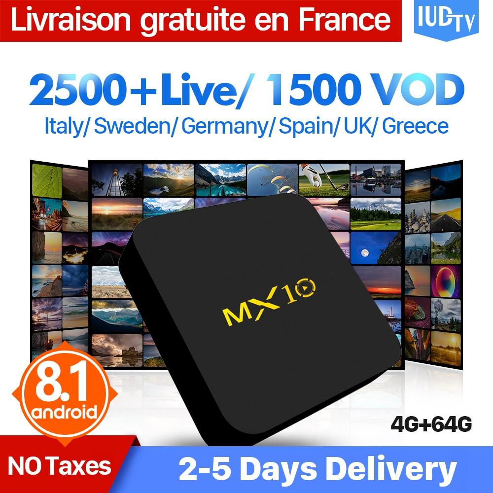 T95N Android 6.0 Smart TV Box 1100 1Aasta tasuta Iptv Tellimus - Kodu audio ja video - Foto 3