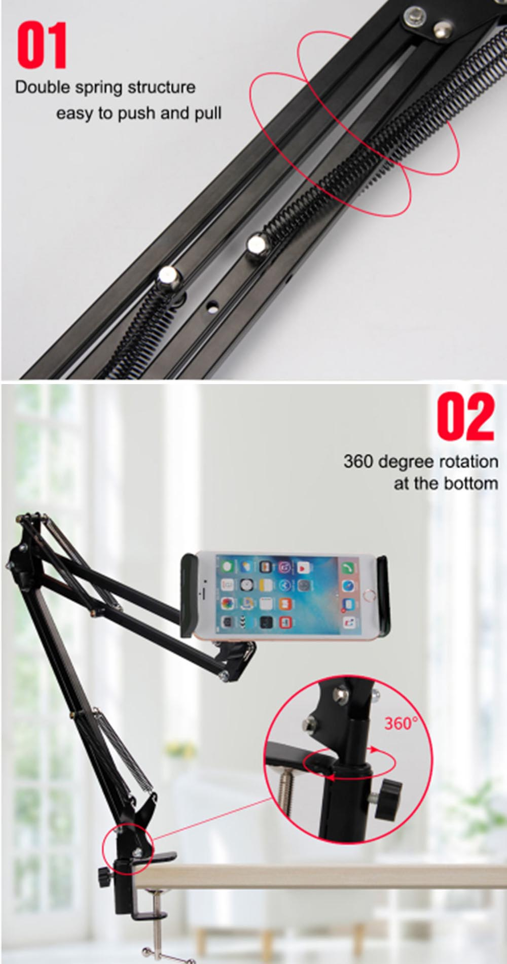 Lazy Phone And Tablet Bracket