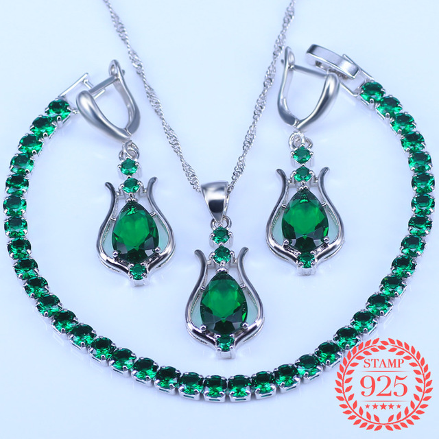 Water Drop Green Zirconia...