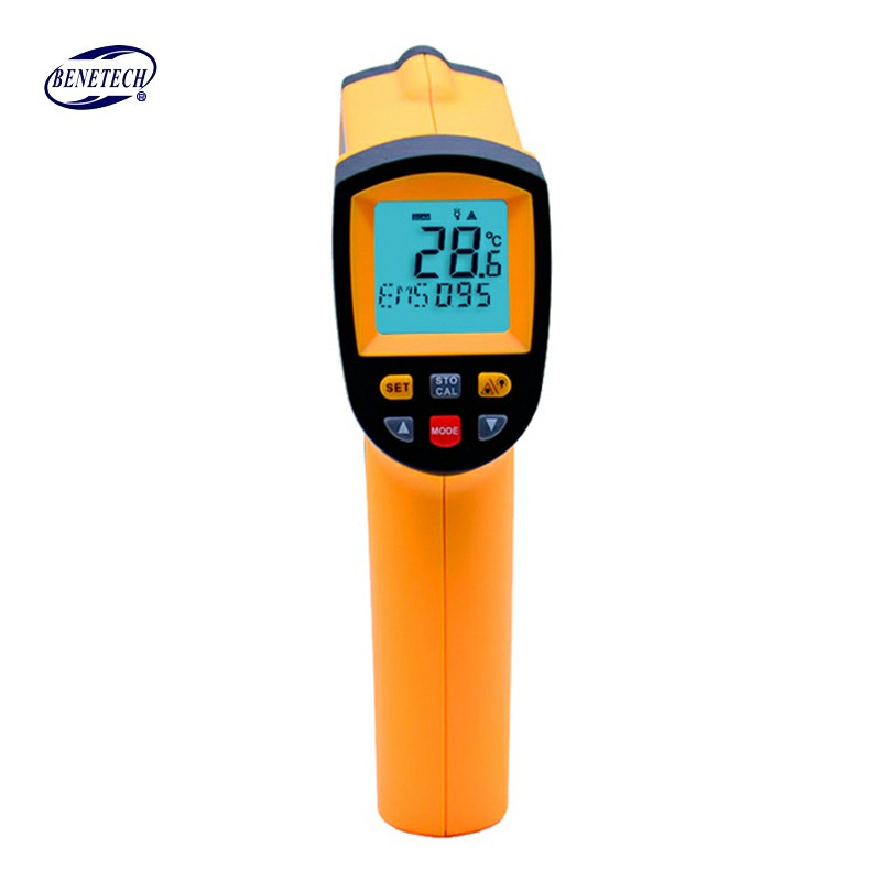 Non-Contact IR Thermometer Digital Laser Infrared Pointer Thermometer GM900 -50-950 Degree With Carry BOX цена