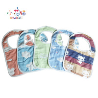 2Pcs Lot Newborn Cotton Gauze Baby Bibs Unisex Fashion Feeding Bib Scarf Baby Saliva Towel Cotton