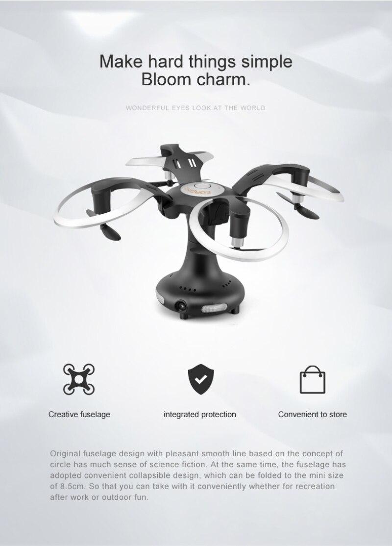 Heißer Mode Ball Falten MINI Racing WiFi FPV Fliegen RC Drone 450C w Geschwindigkeit Schalter 3D stunt APP Control Fernbedienung control Quadcopte - 2