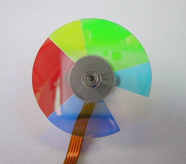 4 Segmento de Diámetro 40mm Ajuste Para Infocus X3 Proyector Rueda De Color