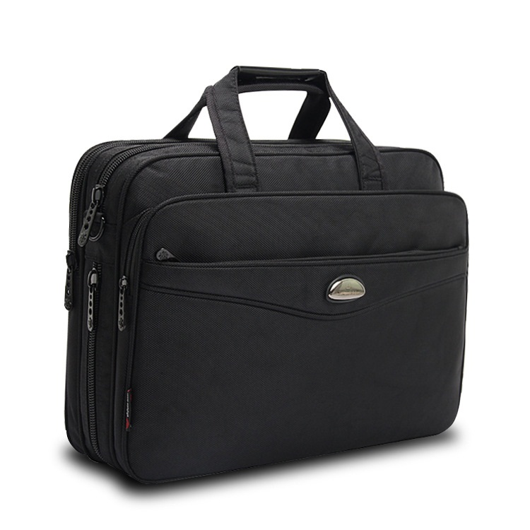15.6 Laptop Bags Crossbody Briefcase Business Men Bag Bolsas Homme Large Capacity Oxford Briefcases For Men With Long Straps B76