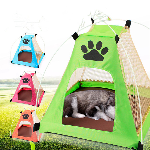 New Arrival Pet Dog Cage Portable Dog House Outdoor indoor Puppy Cat Tent Folding Dog Tent  sc 1 st  AliExpress.com & New Arrival Pet Dog Cage Portable Dog House Outdoor indoor Puppy ...