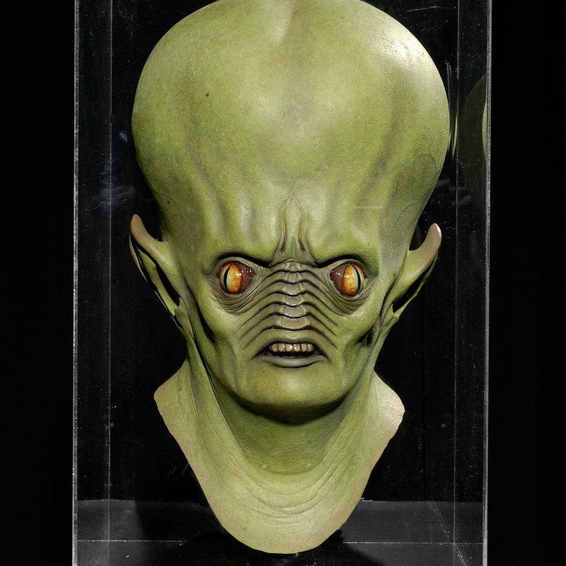 halloween mask giant alien hood ufo headset sci fi movie theme mask cos horror ghost - Alien Halloween Masks