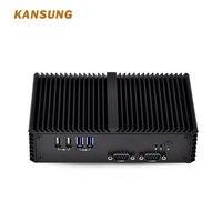Nuevo Kansung OEM barato Mini PC con núcleo i5 procesador Dual Lan 6 x USB multipuerto serie