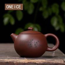 สีม่วง plum LAN ไม้ไผ่ Chrysanthemum Shih กาต้มน้ำหม้อทำด้วยมือ yixing กาน้ำชา hand handmade