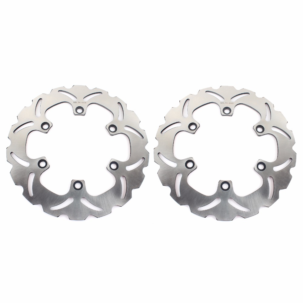 BIKINGBOY Avant Disques De Frein Rotors Pour KAWASAKI ZX 400 88 89 GPZ S 500 89-06 GPZ R 600 84-90 GPZ R 750 85 86 87 RTM 1000 86-93