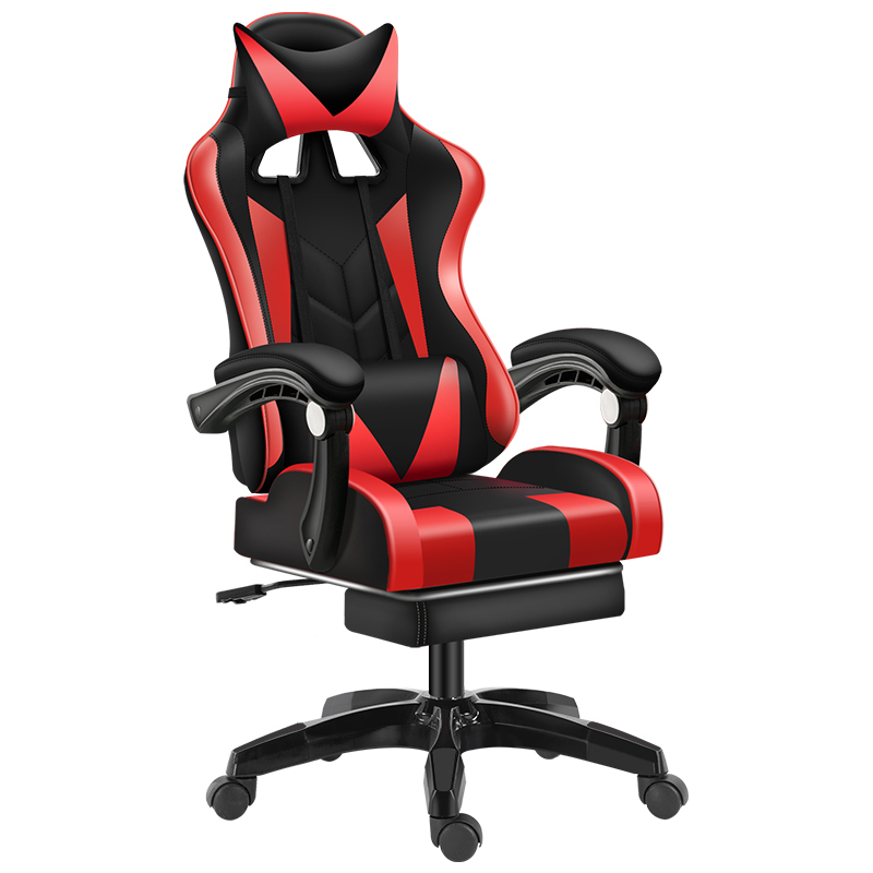 Luxury Quality Esports Poltrona Boss Silla Gamer Office Gaming Chair Can Lie Massage Synthetic Leather With Footrest Ergonomics