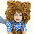 Chapéus do miúdo unisex boy cap chapéu chapelaria cosplay fantasia leão característica de natal de ano novo presente de aniversário adereços foto