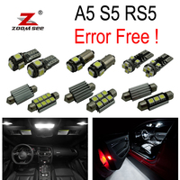 12pc X Canbus LED Interior Light Kit Package For Audi A5 S5 B8 2008 2013