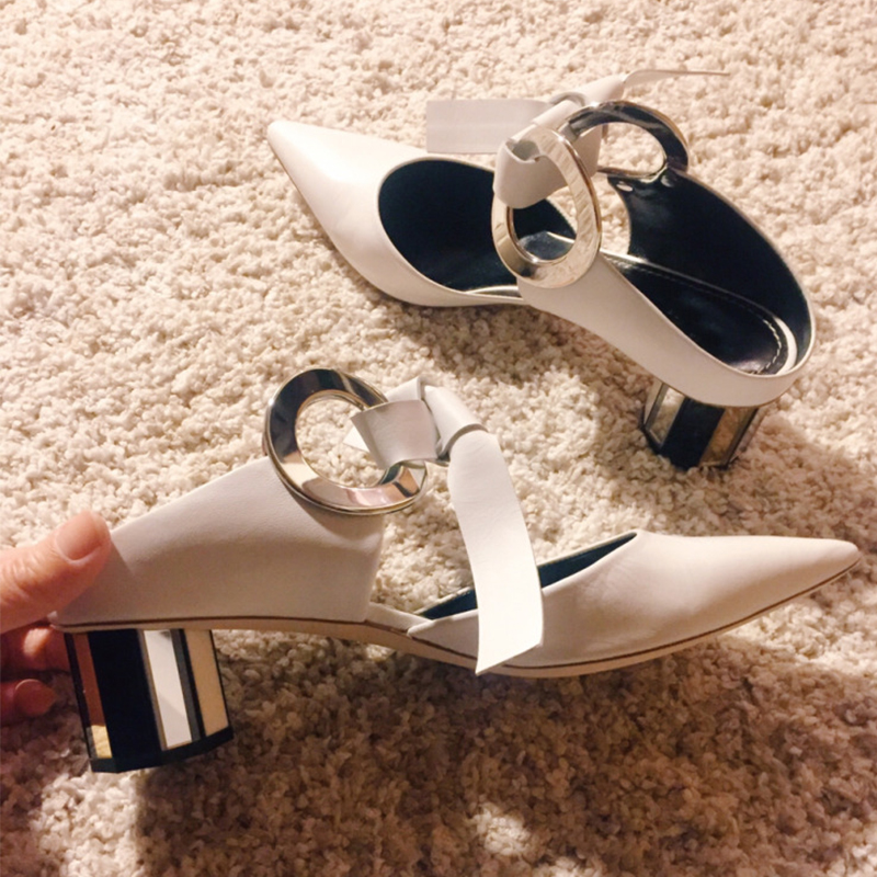 Pompes Mode Pointu Décontractées Shown As Chaussures Talon Mule Bout Beertola Feminino Moyen Mocassins Femmes as Mules Talons Shown qxF7FwU