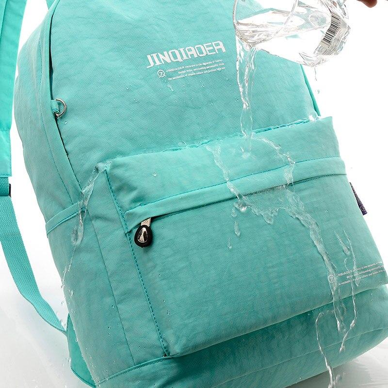 impermeável zipper mochila fêmea cor Handle/strap Tipo : Soft Handle