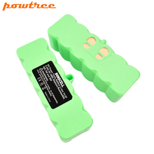Powtree 2Pcs 6400mAh 14.4V Battery For IRobot Roomba 500 600 700 800 Series Vacuum Cleaner 620 650 770 780