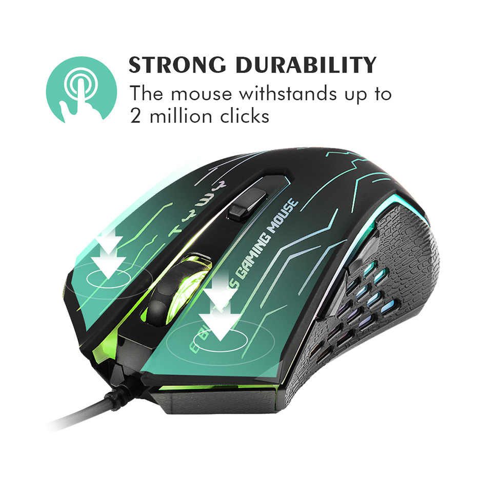 fd0416d3766 ... 2019 New Mouse EasySMX G820 Optical Gaming Mouse 3200 DPI 6 Buttons  Mice Computer Mouse for