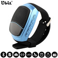 Ubit B90 Inteligente Relojes Cronómetro Alarma Reloj Deportivo Reloj de la Música de Manos Libres FM Radio disparador automático Anti-Alarma anti-perdida Bluetooth Altavoz