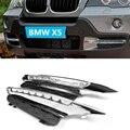 07-09 Пара ABS Автомобиля СИД DRL Дневного Света LED DRL Лампы для BMW X5 E53 07-09