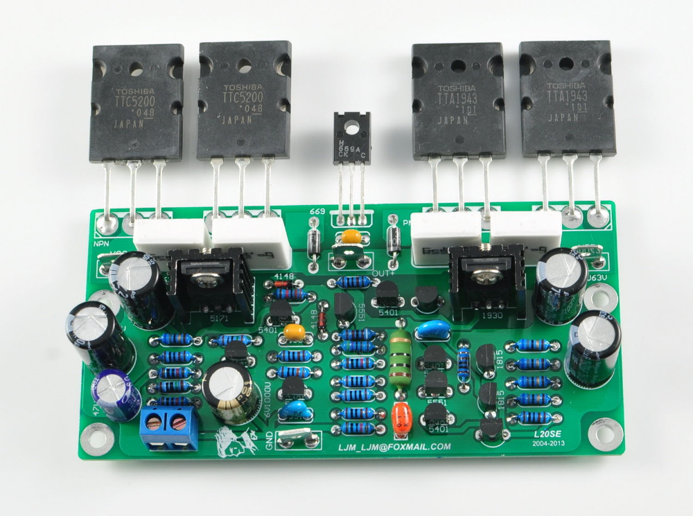 Audio Amplifier Circuit Using Stk4162 Ii