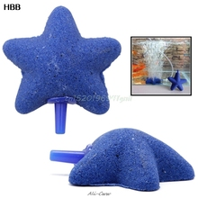 Pet-Products Decoration Fish-Supplies Air-Stone Bubble-Fish-Tank Aquarium Star-Shape
