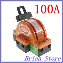 Heavy Duty 2Poles Double Throw DPDT 100A Safety Electronic Circuit Opening Load Knife Blade Disconnect Switches