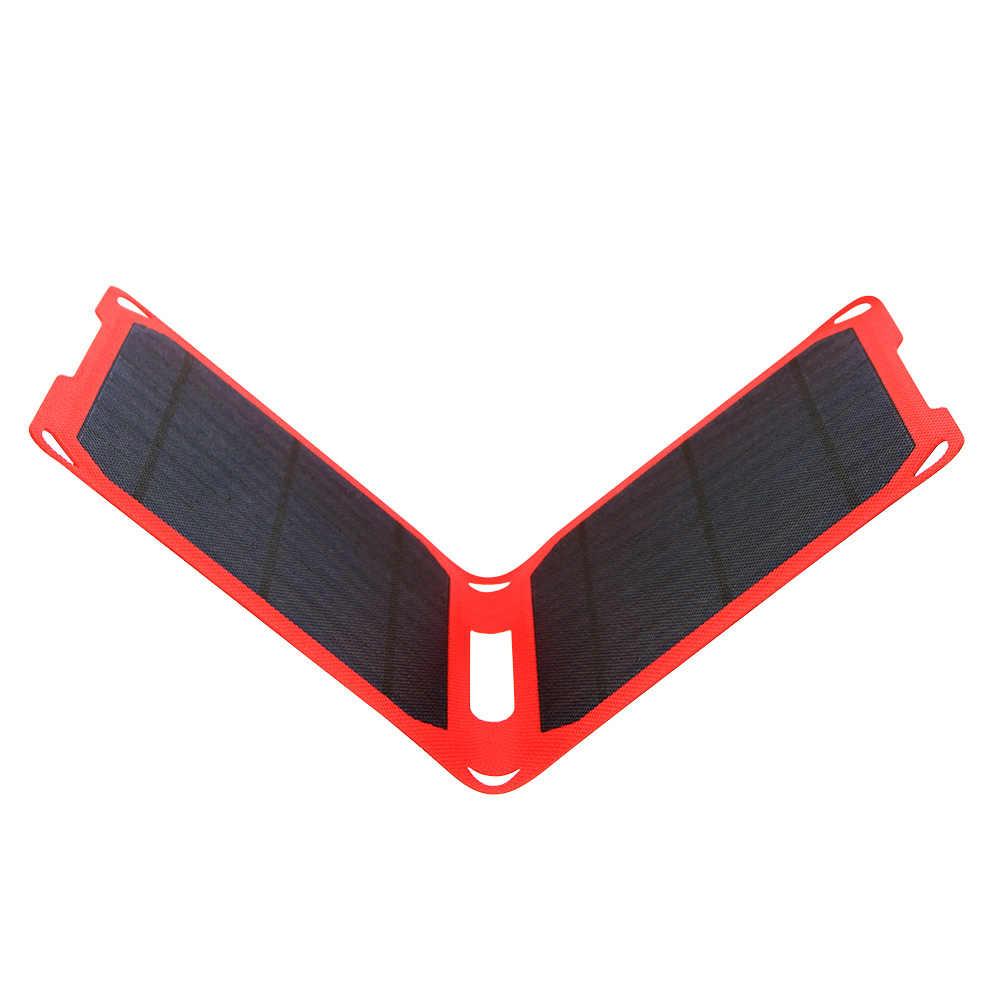 5 v 10 w 2USB Solar Power Bank Pacote de Backup de Bateria Externa Carregador Solar para o Telefone Celular À Prova D' Água Tablets iphone samsung Galaxy