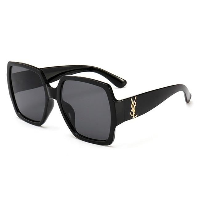 Najmodniejsze Kwadratowe Okulary dla Kobiety Luksusowe Okulary Przeciwsłoneczne Retro 2019
