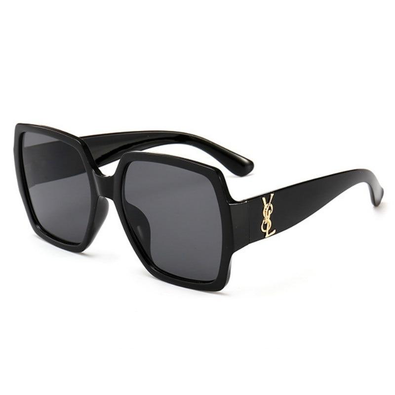Oversized Sunglasses Women Big Frame lunette soleil femme Square Sun glasses 2019 Brand Designer Retro Vintage okulary Eyewear
