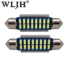 Wljh 2 шт. canbus светодиодный 36 мм C5W лампа регистрации номерной знак для Benz W169 W203 W208 W209 w210 W211 W212