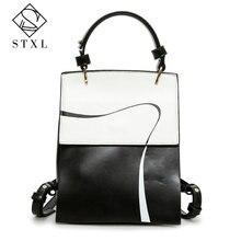 Stxl Для женщин Рюкзаки леди softback мешок Стиль модные Сумки из искусственной кожи высокое качество сумка Марка Дизайн рюкзак мешок