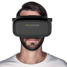 """VR Box 3D Glasses Virtual Reality VR Glasses for 4.7~5.7"""" Smartphone 100% Brand New and VR Shinecon 3D Virtual Reality Glass"""